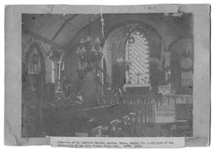 Primary view of object titled '[Interior Church Altar]'.