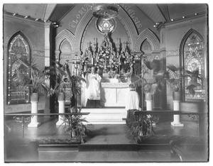 Primary view of object titled '[Church Interior]'.