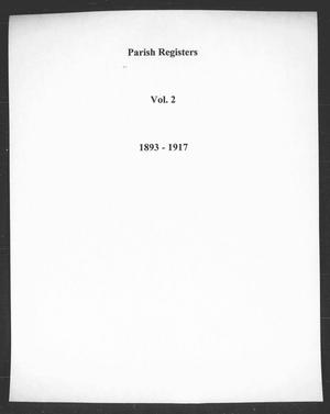 Primary view of object titled 'A Complete Parish Register, for the use of the Protestant Episcopal Church in the United States'.