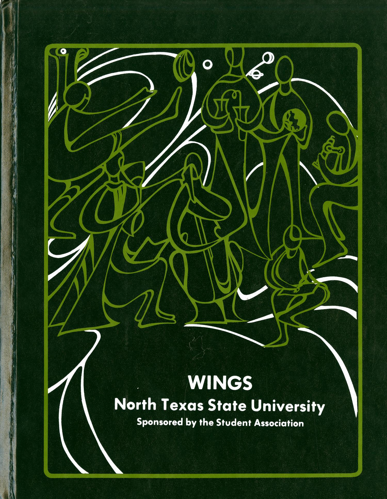 Wings, Yearbook of North Texas State University, [1978]                                                                                                      Front Cover