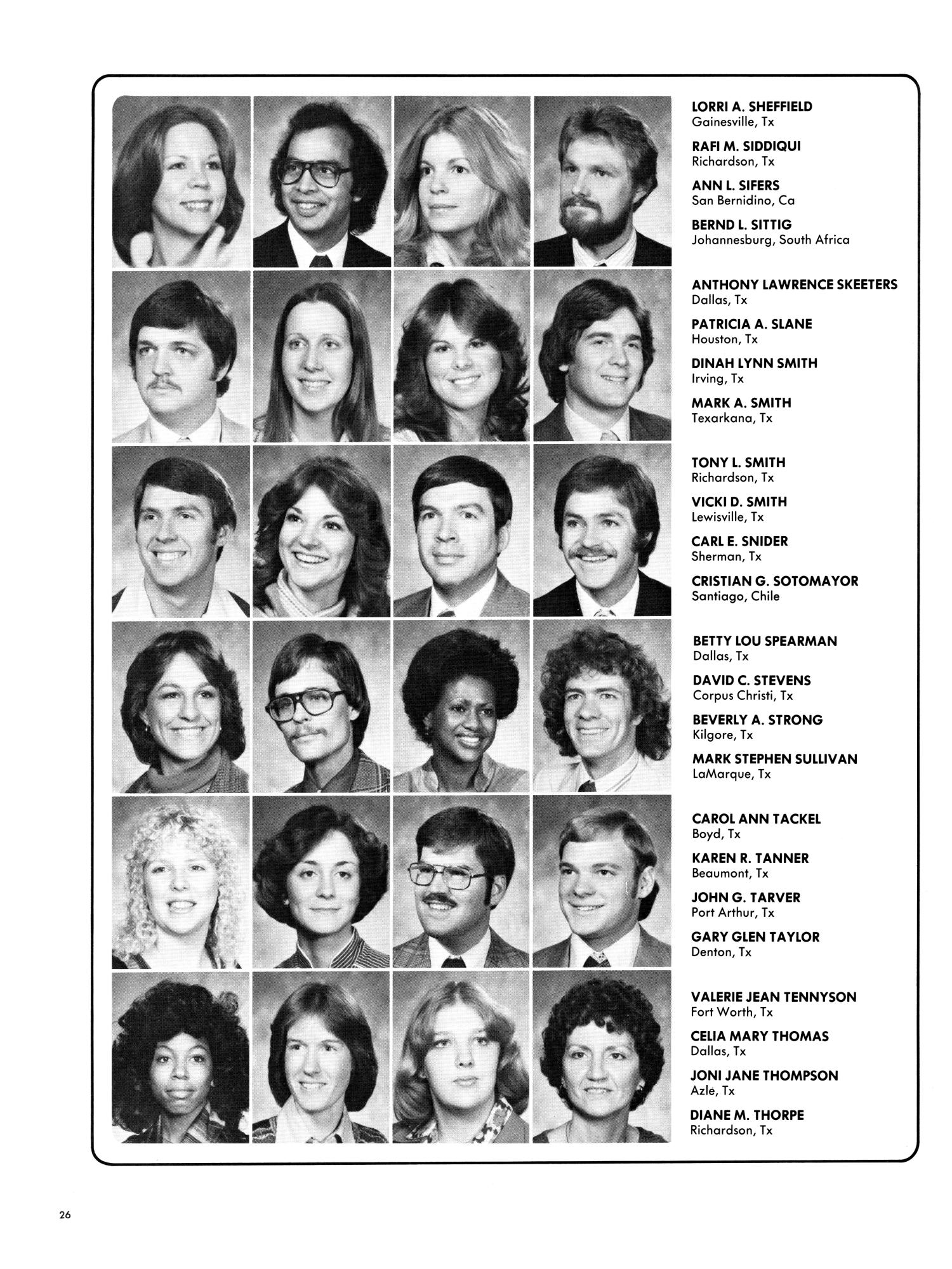 wings yearbook of north texas state university 1978 page 26 wings yearbook of north texas state university 1978 page 26