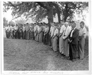 Primary view of object titled 'Kramer Hall groundbreaking ceremony'.
