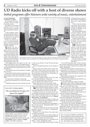 Primary view of object titled 'The University News (Irving, Tex.), Vol. 31, No. 17, Ed. 1 Wednesday, February 27, 2002'.