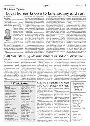Primary view of object titled 'The University News (Irving, Tex.), Vol. 31, No. 21, Ed. 1 Wednesday, April 10, 2002'.