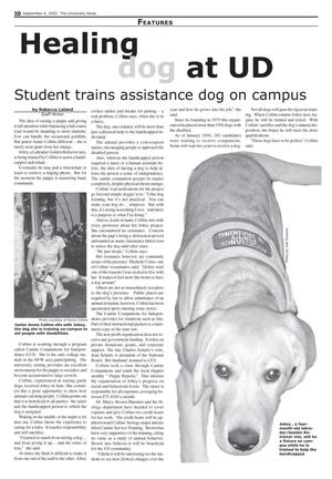 Primary view of object titled 'The University News (Irving, Tex.), Vol. 32, No. 2, Ed. 1 Wednesday, September 4, 2002'.