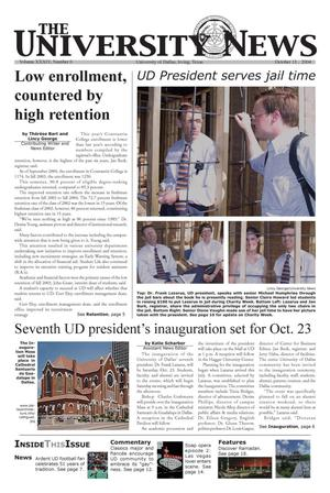 The University News (Irving, Tex.), Vol. 34, No. 6, Ed. 1 Wednesday, October 13, 2004