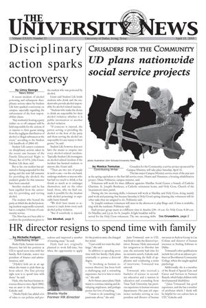 The University News (Irving, Tex.), Vol. 34, No. 21, Ed. 1 Wednesday, April 13, 2005
