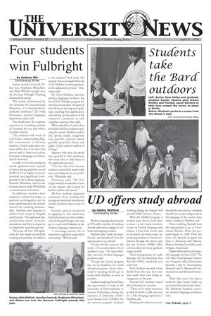 The University News (Irving, Tex.), Vol. 34, No. 22, Ed. 1 Wednesday, April 20, 2005