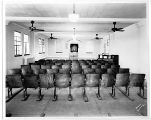 Primary view of object titled 'Kilian Hall chapel'.