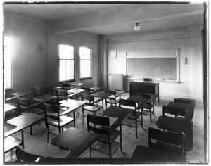 Primary view of object titled 'Kilian Hall classroom'.