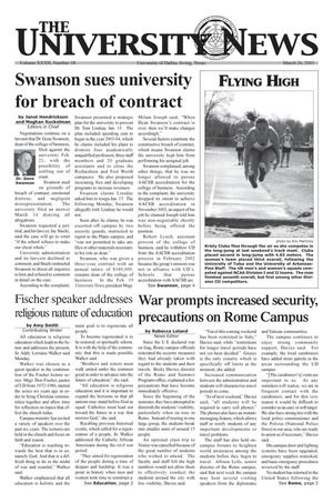 The University News (Irving, Tex.), Vol. 32, No. 18, Ed. 1 Wednesday, March 26, 2003