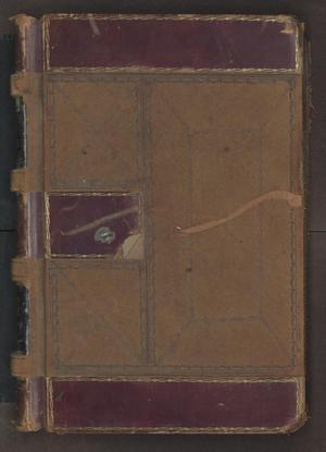 Primary view of object titled '[Criminal Docket, County Court, Cooke County, 1897-1899]'.