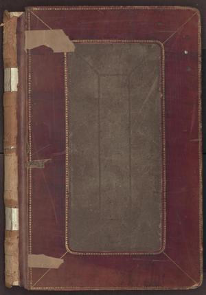 Primary view of object titled '[Minutes, Pleas of Guilty, County Court, Cooke County, 1892-1899]'.