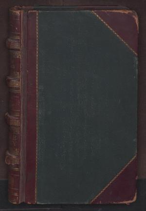 Primary view of object titled '[Record of Fugitives, District Court, Cook County, 1865-1908]'.