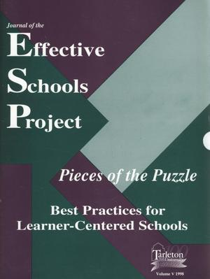 Primary view of object titled 'Journal of the Effective Schools Project, Volume 5, 1998'.