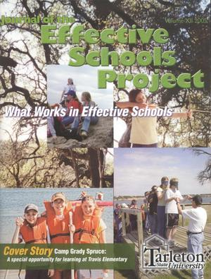 Primary view of object titled 'Journal of the Effective Schools Project, Volume 12, 2005'.