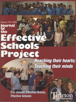 Primary view of object titled 'Journal of the Effective Schools Project, Volume 16, 2009'.