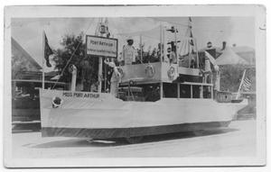 Primary view of object titled '[Port Arthur parade float]'.