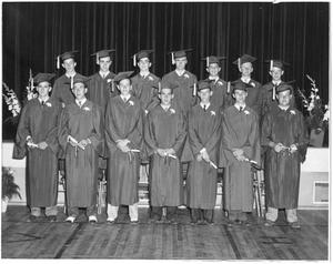 Graduation in the old gym