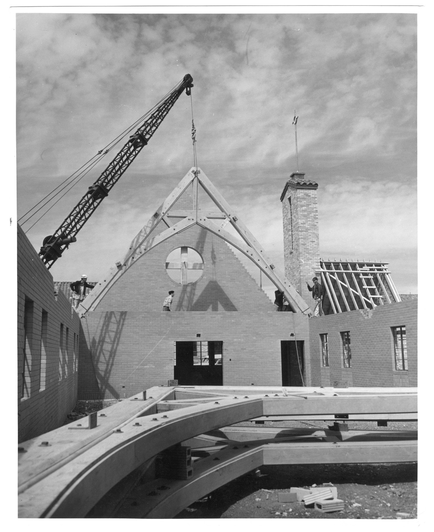 Construction of Birkman Chapel                                                                                                      [Sequence #]: 1 of 1