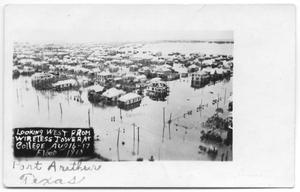 Primary view of object titled '[Aerial View of Flood]'.
