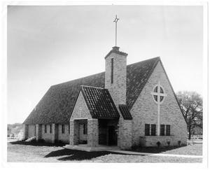Primary view of object titled 'Exterior of Birkman Chapel'.