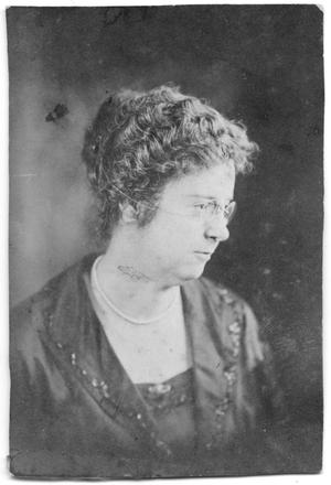 Primary view of object titled '[Photograph of Mrs. J. P. Duke, 1921]'.