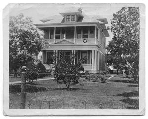 Primary view of object titled '[Exterior of House]'.