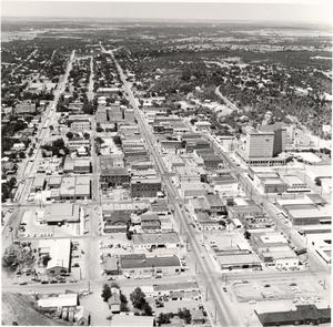 [An Aerial View of Mineral Wells, Texas]