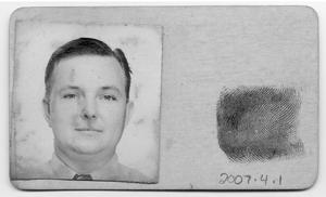 Primary view of object titled '[Port Arthur Civilian Defense Card]'.