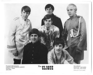 Primary view of object titled '[Photograph of The Clique]'.