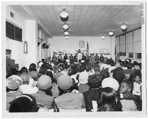 Primary view of object titled '[Elementary School Meeting]'.