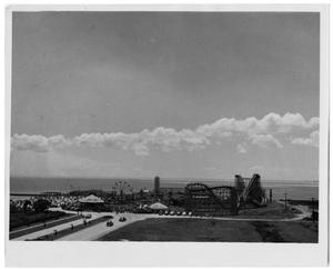 Primary view of object titled '[View of Pleasure Pier]'.
