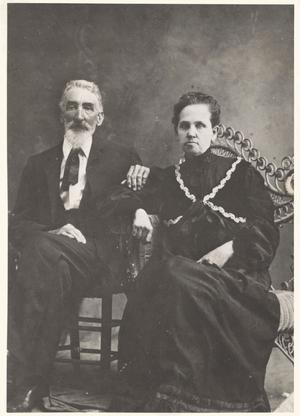 Primary view of object titled '[Col. and Mrs. W. Riess (W. R.) Austin]'.