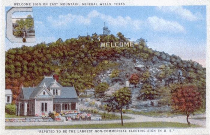Image result for The TOO TALL Texas Tale of TWO TALL Signs ... From Bald Mountain to Hollywood Hills Mount Lee