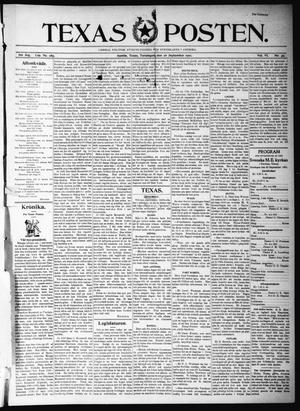 Texas Posten (Austin, Tex.), Vol. 6, No. 39, Ed. 1 Thursday, September 26, 1901