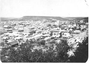 Primary view of object titled '[An Aerial View of Mineral Wells]'.