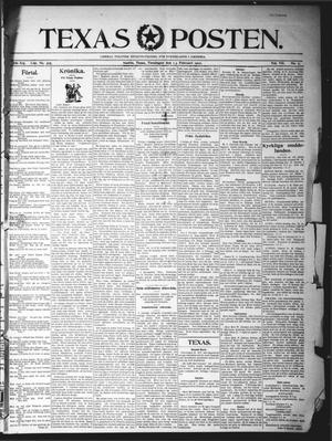 Texas Posten (Austin, Tex.), Vol. 7, No. 7, Ed. 1 Thursday, February 13, 1902