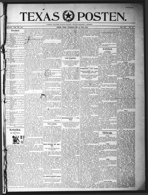 Texas Posten (Austin, Tex.), Vol. 7, No. 13, Ed. 1 Thursday, March 27, 1902