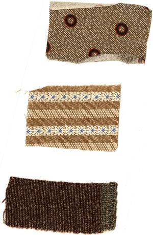 Primary view of object titled '[Fabric Samples]'.