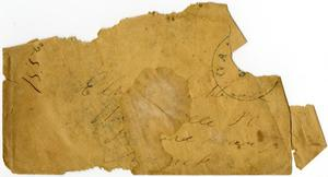 Primary view of object titled '[Envelope addressed to Elvira Moore, 1856]'.