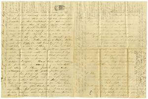 [Letter from J. S. Nimmo to Charles B. Moore, March 31, 1861]