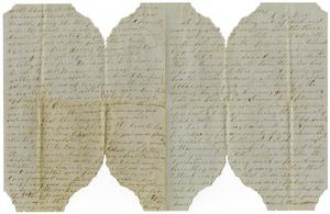 Primary view of object titled '[Letter from George A. Wilson to Charles B. Moore, 1861]'.