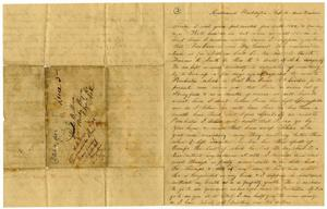 [Letter from Henry S. Moore to Charles B. Moore, February 1862]
