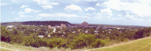 [A Panorama of Mineral Wells, Texas:   Looking East]