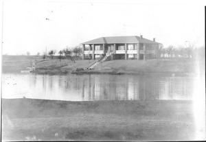 Primary view of object titled '[Photograph of the First Mineral Wells Golf Country Club]'.