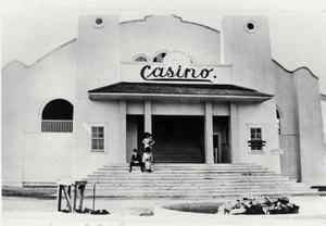 Primary view of object titled '[The Casino at Elmhurst Park]'.