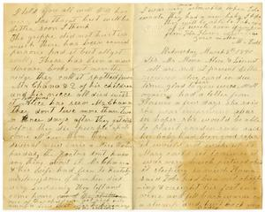 Primary view of object titled '[Letter from Matilda Dodd to Mr. Moore, Sis, Alice and Linnet, March 5, 1890]'.