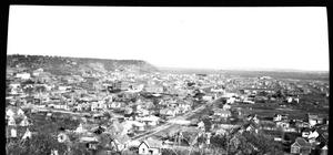 Primary view of object titled '[A View From South Mountain Toward East Mountain]'.