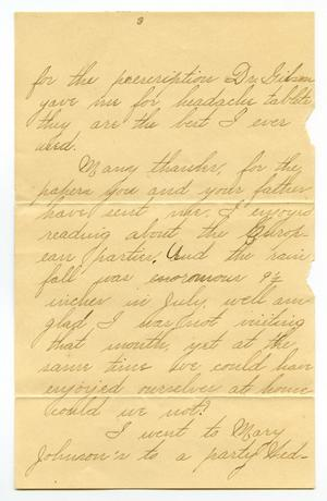 Primary view of object titled '[Letter from Lula Dalton to Linnet Moore]'.